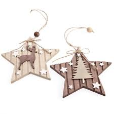 Christmas Tree Toppers Uk by Wooden Christmas Decorations U2013 Decoration Image Idea
