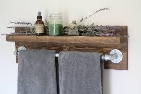 Rustic Industrial Bathroom Mirror by Install Bathroom Towel Rack Med Art Home Design Posters