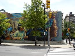 Philadelphia Mural Arts Map by Philadelphia Murals Dazzle Arbiter News