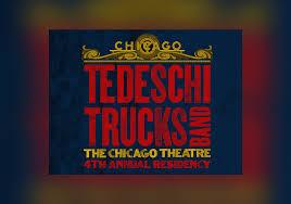 Tedeschi Trucks Band Tickets   The Chicago Theatre   2019