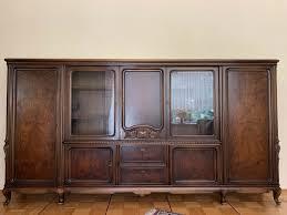 stilmöbel barock wohnzimmer schrank