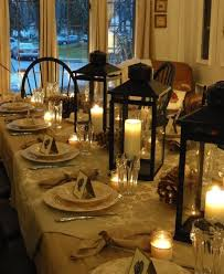 Candle Centerpieces For Dining Room Table 16 Thanksgiving Ideas Setting Lantern
