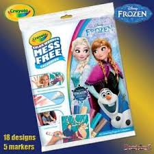 Image Is Loading Crayola Disney Frozen Color Wonder Mess Free Magic