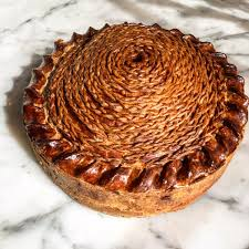 cuisine farce calum franklin on whopper of a 4kg pork pie with a farce