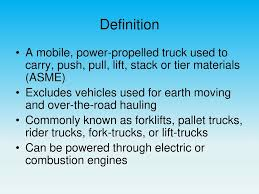 Powered Industrial Truck OSHE 112, Spring Ppt Download Appendix B List Of Organizations Contacted Hazardous Materials Ipe You Dont Walk Away From A Fork Lift Accident Elon Musk Reveals Teslas Plan To Takeover Trucking Inccom Osha National Alliances Industrial Truck Association Ita New York History The Trucking Industry In United States Wikipedia Events Alabama News Illinois Bita Remains Positive On Flt Sales Municipal Trucks Transway Systems Inc Powered Oshe 112 Spring Ppt Download