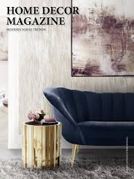100 Modern Interiors Magazine Home Decor Sofas Trends Upholstery Couch