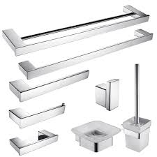 Owl Themed Bathroom Set by Popular Stainless Steel Bathroom Accessories Sets Buy Cheap