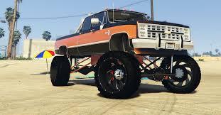 100 Bagged Chevy Trucks 1986 Silverado CrewCab AddOn GTA5Modscom