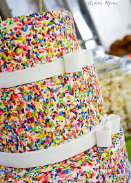 Baby Boy s Cake Mix & Sprinkles Birthday Cake