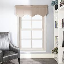 Swag Curtains For Living Room by Window Valances For Living Room With Valance Amazon Com