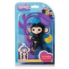WowWee Fingerlings Interactive Baby Monkey Toy Finn