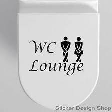 details zu wc lounge toilette pipi tür aufkleber schild bad wohnzimmer schlafzimmer sticker