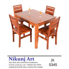 Nikunj Sheesham Wood Four Seater Dining Table Set For Home Living Room-  Brown Details About 5 Piece Ding Table Set 4 Chairs Glass Metal Kitchen Room Breakfast Fniture House By John Lewis Anton 68 Seater Extending Oak Fast Food And Chair Philippines Restaurant For Sale Buy Aircheap Used Newhaven Round Extension Angels Modish Solid Sheesham Wood Walnut Finish Folding Ashley Grindleburg In Twotone Calpe Flip Top Induscraft Sheesam Brown Hedsta Ikea V2 Harald V3 Strata Universal Eileen 6 Costco Uk Hadleigh Of Fabric Homelegance Dandelion 5pc Taupe