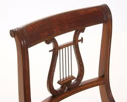 Lyre Back Chairs Antique hand made lyre back chair by kauffman fine furniture custommade com