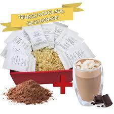 c t großes trinkschokolade geschenkset märchenhafte trinkschokolade kakao mit 10 leckeren sorten à 35g trinkschokolade und gratis glas geschenk