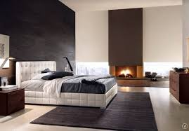 Modern Elegant Master Bedroom Decorating Ideas Design With White Platform Bed
