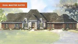 beverly ii d dual master suite house plan schumacher homes
