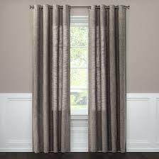 textured weave window curtain panel threshold target