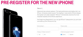 T Mobile fering Free 32GB iPhone 7 During Pre Order With Trade