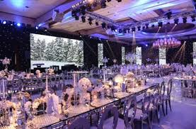 The Winter Wonderland Wedding By Elie Berchan Events Creation