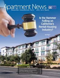 100 Sunset Plaza Apartments Anaheim August 2019 Apartment News Magazine By Apartment Association