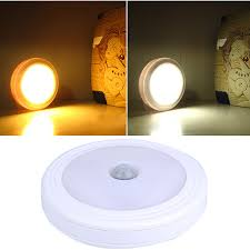 pir motion sensor magnetic led infrared wall l light auto