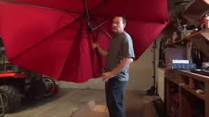 9 Ft Patio Umbrella With Crank by Cobana 9 Ft Outdoor Table Aluminum Patio Umbrella Market Umbrella