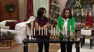 Qvc Christmas Tree With Remote by Set Of 4 Window Candles With Timer By Valerie On Qvc Youtube
