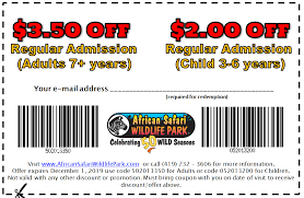 Discounts | Admission Prices | African Safari Wildlife Park - Port ... Enjoy 10 Off Emirates Promo Code Malaysia August 2019 Help Frequently Asked Questions Globe Online Shop Holdmyticket Blog Megabus 1 Tickets And Codes Checkmybus Website Coupons Vouchers Odoo Apps Discounts Admission Prices African Safari Wildlife Park Port Pa Ilottery Bonus Up To 100 Free Cash Evga Articles Geforce 20series Rtx Psu Bundle Downton Abbey The Exhibition