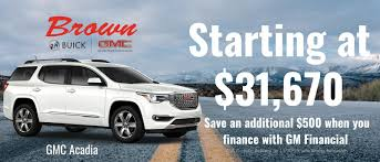 Brown Buick GMC In Amarillo - Plainview & Canyon Dealer