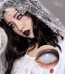 Cheap Prescription Halloween Contacts Canada by Halloween Contacts Princess Pinky Cosplay White Mesh Pinkyparadise
