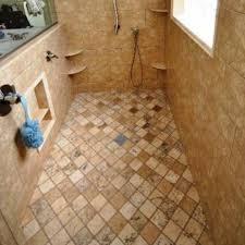 Rustic Shower Area Subway Tile Interior Home Design Paint