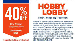 Alabamians Sue Hobby Lobby Over Coupon Confusion - Al.com Hlobbycom 40 Coupon 2016 Hobby Lobby Weekly Ad Flyer January 20 26 2019 June Retail Roundup The Limited Bath Oh Hey Off Coupon Email Archive Lobby Half Off Coupon Columbus In Usa I Hate Hobby If Its Always 30 Then Not A Codes Up To Code Extra One Regular Priced App Active Deals Techsmith Coupons Promo Code Discounts 2018 8 Hot Saving Hacks Frugal Navy Wife