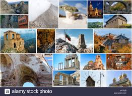 Collage Of Bulgarian Landmarks And Popular Travel Destinations
