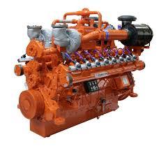 gas engine 4 cylinder turbocharged for generator sets hgm