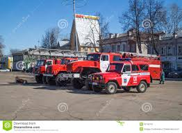 100 Cost Of A Fire Truck VyaznikiRussiaMarch 272015 Stand On Cathedral