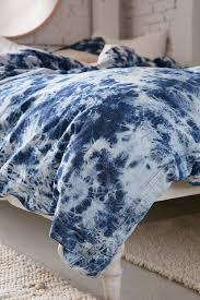 premium denim tie dye duvet cover urban outfitters