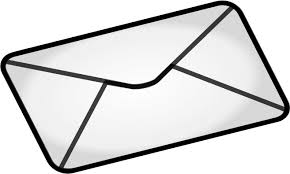 Envelope Household Odds And Ends Mail Envelope Html M9fhuj Clipart Envelope Clipart Black And White