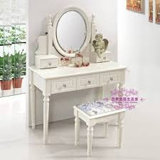 Double Sink Vanity With Dressing Table by Furniture Awesome Wooden Makeup Vanity Table And Bench Set Best