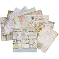 100 Wallflower Designs Tim Holtz IdeaOlogy Paper Stash 36 Sheets Hobbycraft