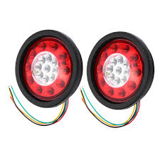 19 Led Truck Lorry Brake Lights Stop Turn Tail Lamp Black Rubber ... Ledconcepts Colmorph Rgb Light Bar Halos Color Chaing Offroad 45w Led Work Light Truck Working For 4x4 Offroad Fancy Changes The Lights With Music 2pcs 18w Flood Square Offroad 4wd Driving 12 54w 3765 Lumens Super Bright Leds Truck Bed With Strips Diy Howto Youtube Combo 40w 4inch Driving Used Toyota Truck Strip Lights Underglow For Toyota Tacoma Ambother 4 Round 12led Trailer Brake Stop Turn Marker Tail Amazoncom Genuine Ford Fl3z13e754a Kit Rear Trucks Model 95