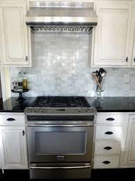 White Subway Tile Backsplash Home Depot by Kitchen Groutless Tile Backsplash Grey Backsplash Mosaic Tile