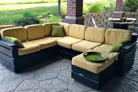 Black Pallet Patio Furniture