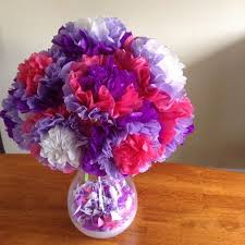 Easy Tissue Paper Flowers 5 Steps With Pictures
