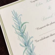 Wedding Renewal Invitations Awesome Green Rustic Vintage Herb Garden Inspired Ribbon Tied Pocket Fold