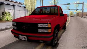 1990 Chevy 454 Ss Truck New Chevrolet 454 Ss C1500 1990 For Gta San ...