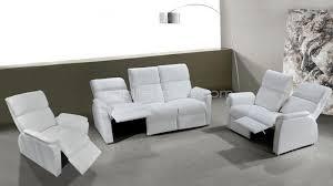 canape relax cuir blanc salon coplet design blanc relax clayton mobiliermoss salon