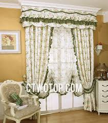 cute little flowers living room girls country curtains no include