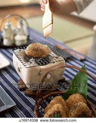 glacer en cuisine images personne glacer riz balle cuisine sur charbon de bois