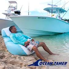 Ocean Tamer Bean Bag Sit Back Relax And Enjoy The View Crew From Relaxing